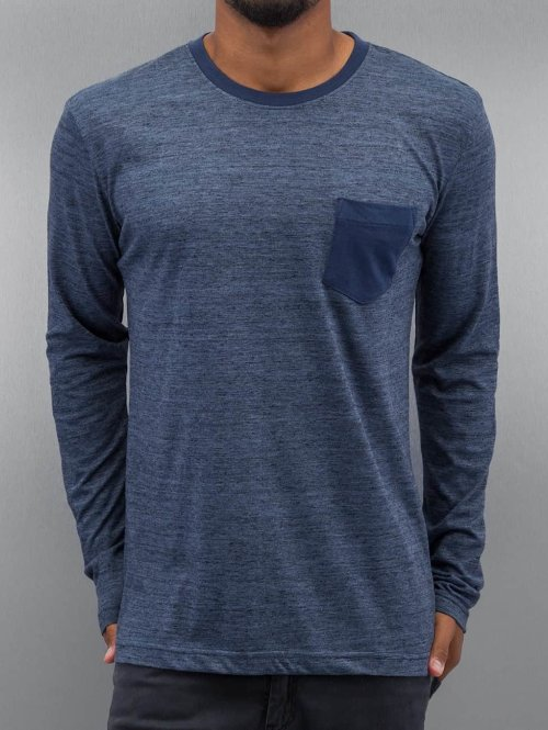 Authentic Style Longsleeve Tom blau