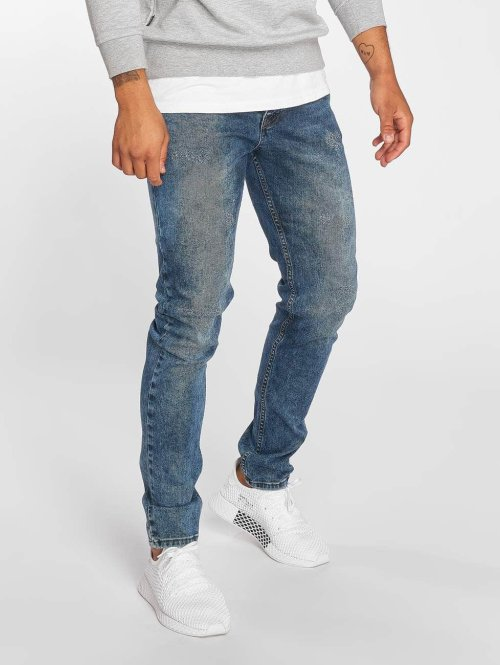 Bangastic Jean slim Clay bleu