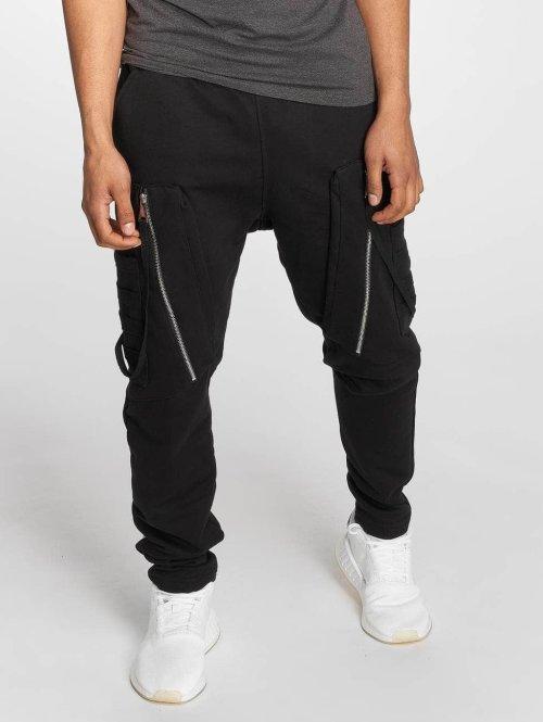 Bangastic joggingbroek Hardstyle zwart