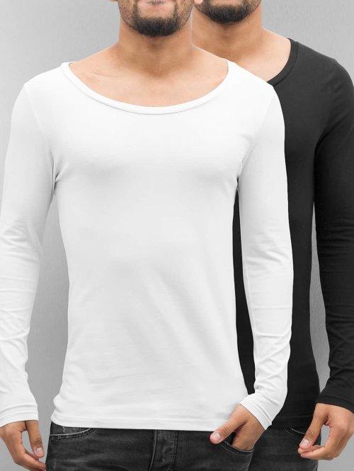 Bangastic Pitkähihaiset paidat Basic musta
