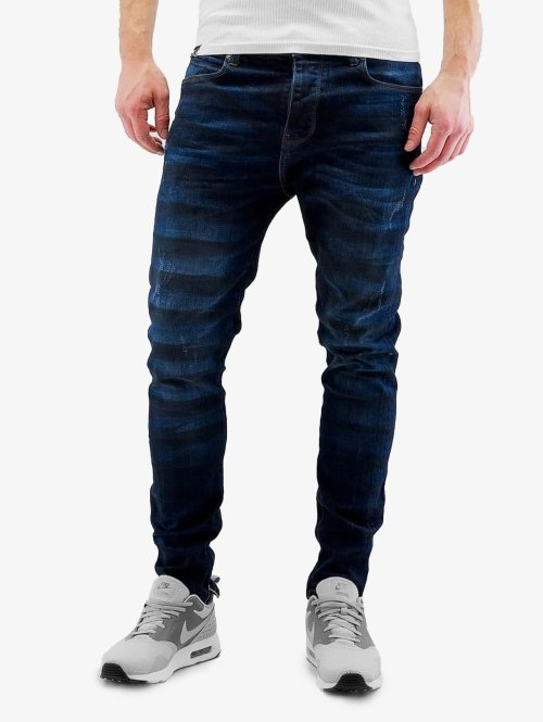 Bangastic Slim Fit -farkut K125 sininen