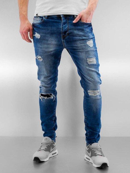 Bangastic Slim Fit Jeans Burundi blauw