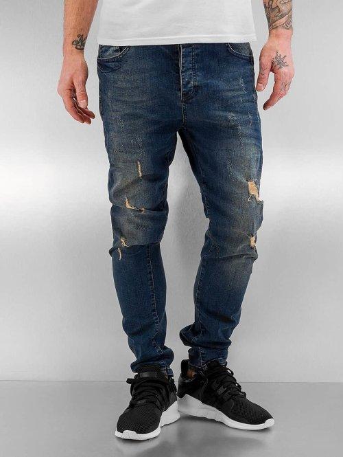 Bangastic Slim Fit Jeans Kurt blauw