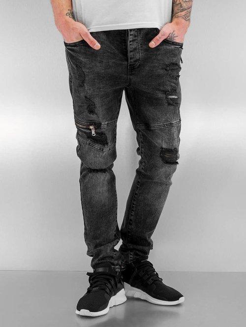 Bangastic Slim Fit Jeans Edmund grau