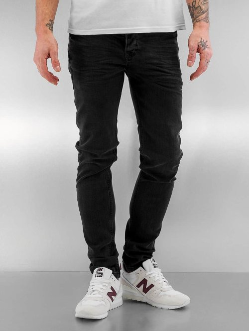 Bangastic Slim Fit Jeans Theodor schwarz
