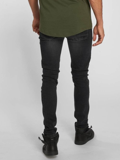 Bangastic Slim Fit Jeans Vinny schwarz