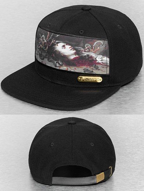 Bangastic Snapback Cap Medusa schwarz