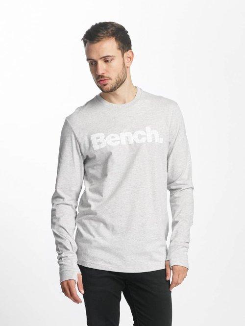 Bench Longsleeve Logo grijs
