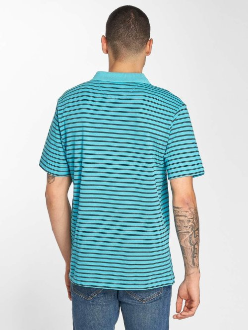 Bench Poloshirt Y/D Stripe türkis