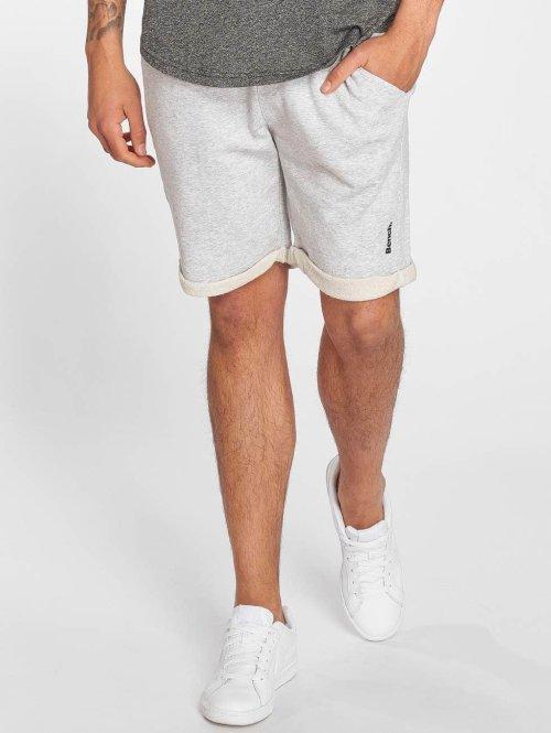 Bench Shorts Rolled grau