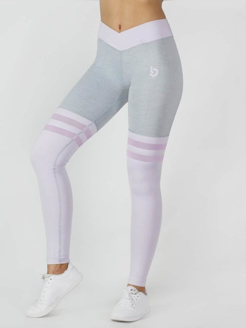 Beyond Limits Legging Overknee grau