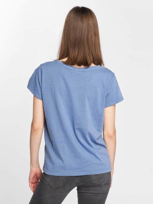 Blend She T-Shirt Cute R blau