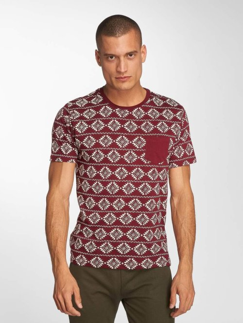 Brave Soul T-Shirt Deon rouge