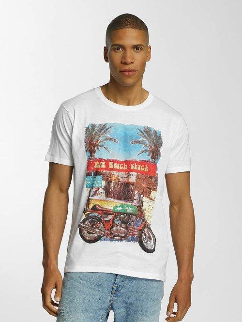 Brave Soul T-Shirt Crew Neck weiß