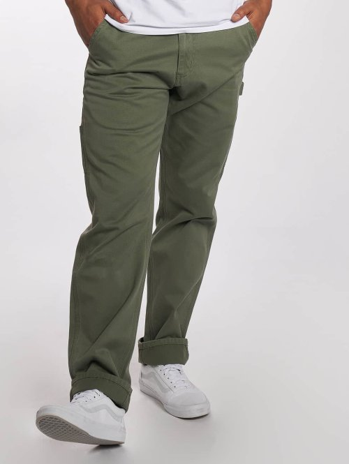 Carhartt WIP Chino WIP Millington Ruck Single Knee Regular Tapered Fit grün