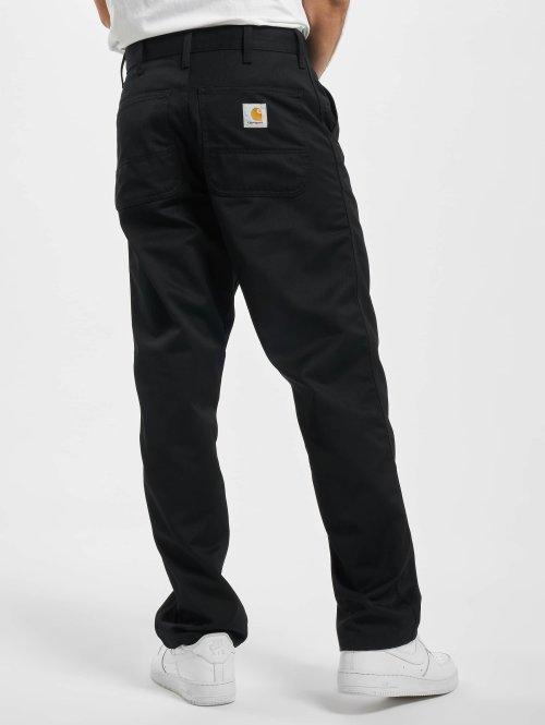 Carhartt WIP Loose Fit Jeans Denison Twill Simple schwarz