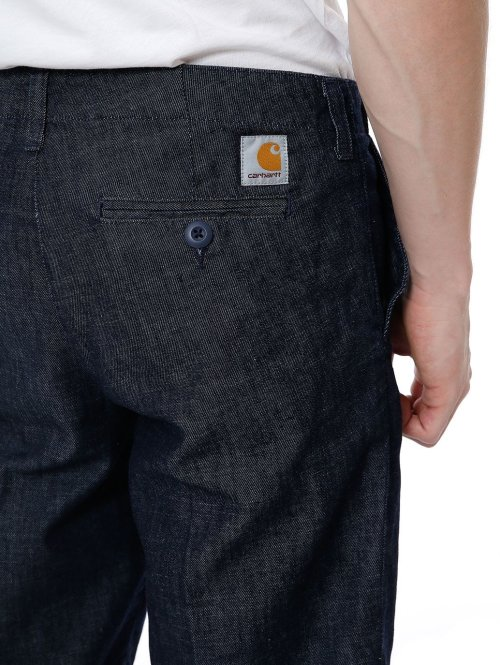 Carhartt WIP Shorts Club blau