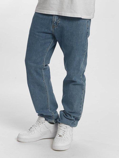 Carhartt WIP Straight Fit Jeans Milton Pontiac blau