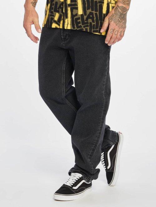 Carhartt WIP Straight Fit Jeans Marlow schwarz