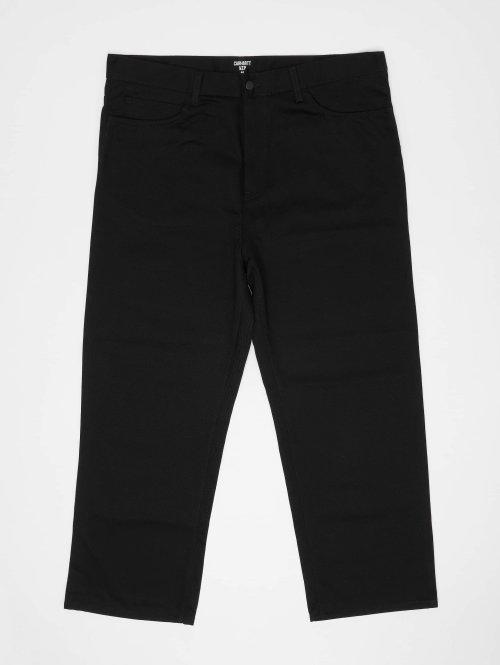 Carhartt WIP Straight Fit Jeans Smith schwarz
