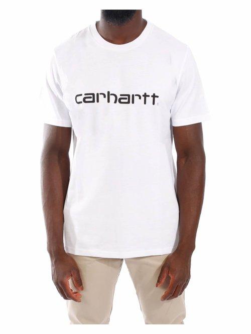 Carhartt WIP T-Shirt SS Script weiß
