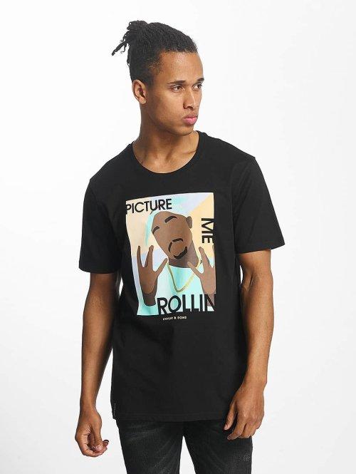 Cayler & Sons t-shirt Me Rollin zwart