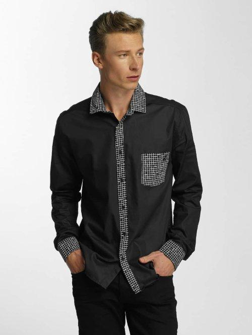 Cazzy Clang Hemd Plaid schwarz