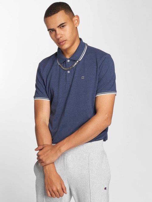 Champion Athletics Poloshirt Authentic Athletic Apparel blau