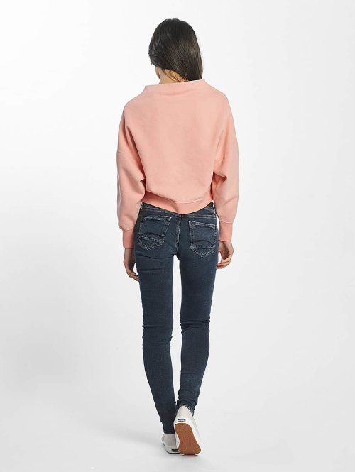 Champion Pullover Cropped rosa