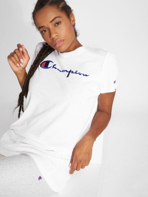 Champion T-Shirt Long weiß