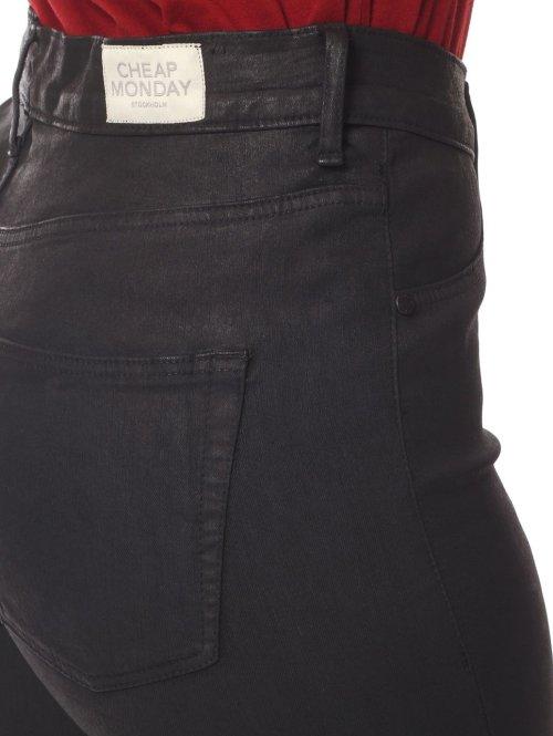 Cheap Monday Skinny Jeans High Spray schwarz