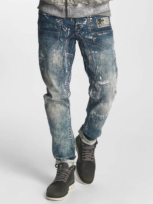 Cipo & Baxx Straight Fit Jeans Kian blau