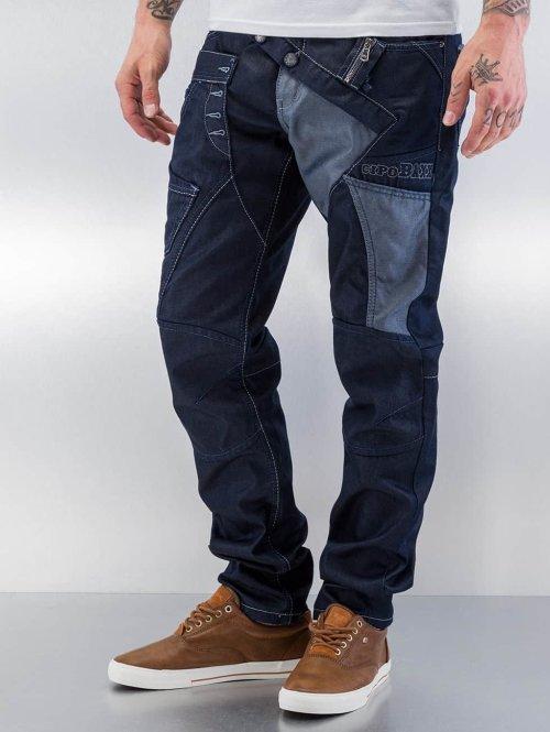 Cipo & Baxx Straight fit jeans Tight blauw