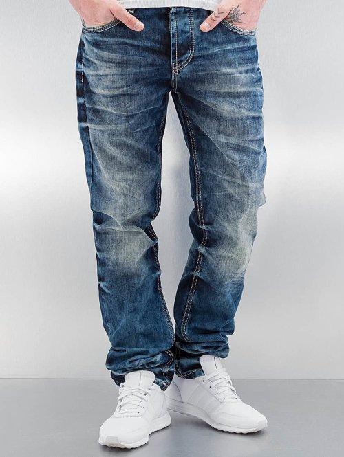 Cipo & Baxx Straight fit jeans Stevenage blauw