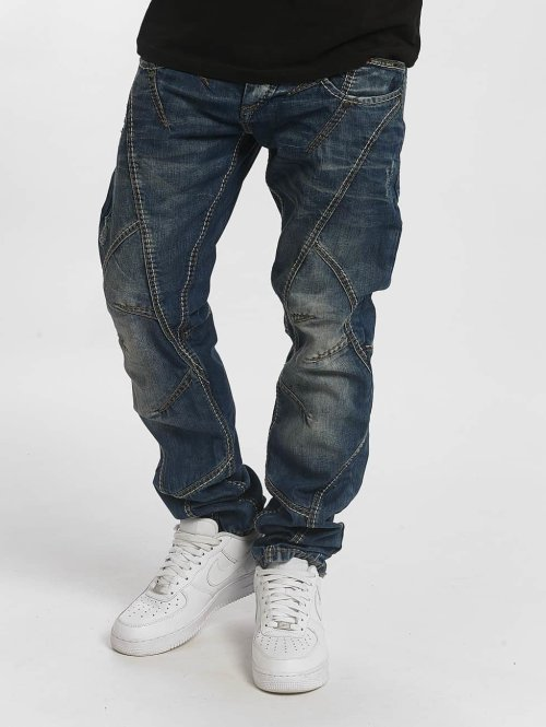 Cipo & Baxx Straight fit jeans Thick And Pride Classic Fit blauw