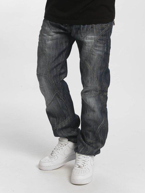 Cipo & Baxx Straight fit jeans Leon Classic Fit blauw