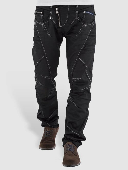 Cipo & Baxx Straight Fit Jeans Open Minded Classic Fit schwarz