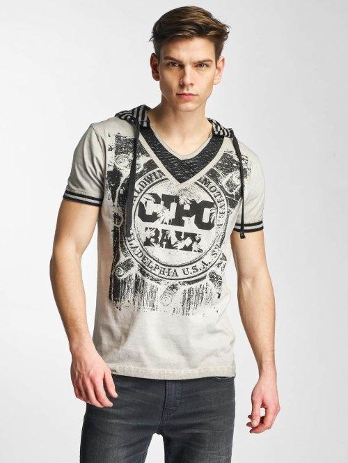 Cipo & Baxx T-Shirt Drago grau