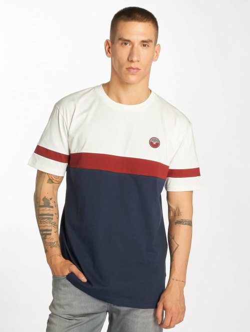 Cleptomanicx T-Shirt Nautic TS Basic weiß