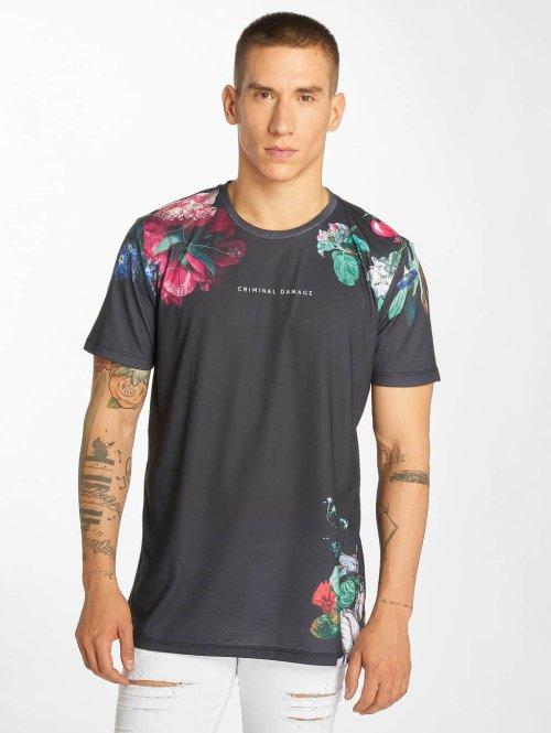 Criminal Damage t-shirt Siena grijs
