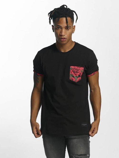 Criminal Damage t-shirt Vale Pocket zwart