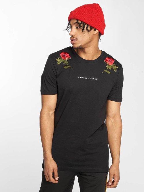 Criminal Damage t-shirt Thorn zwart