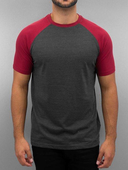 Cyprime T-Shirt Raglan rot