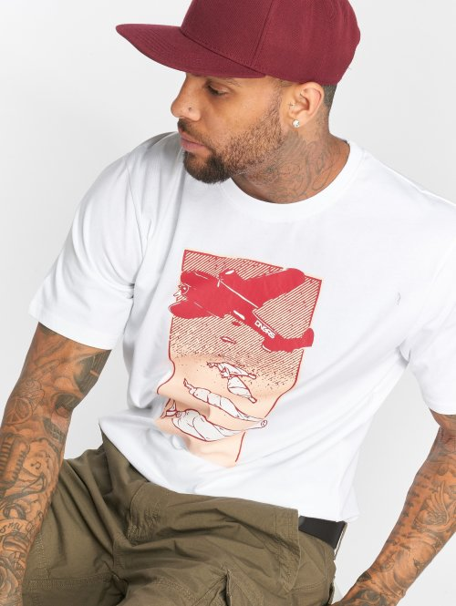 Dangerous DNGRS Camiseta Weedsky blanco