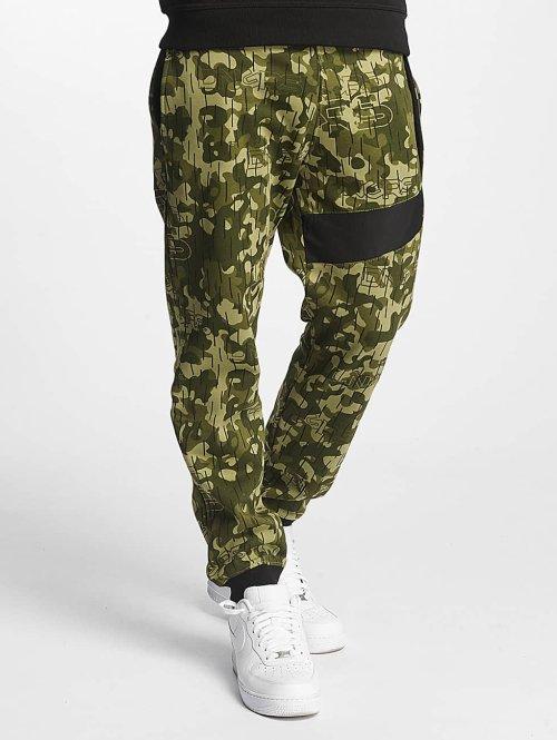 Dangerous DNGRS Joggingbukser New Pockets camouflage