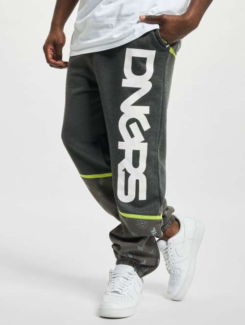 Dangerous DNGRS Joggingbukser Crosshair grå