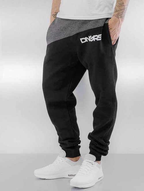 Dangerous DNGRS Pantalone ginnico Hardcore nero