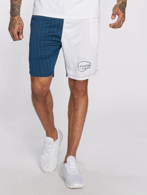Dangerous DNGRS shorts LosMuertos blauw