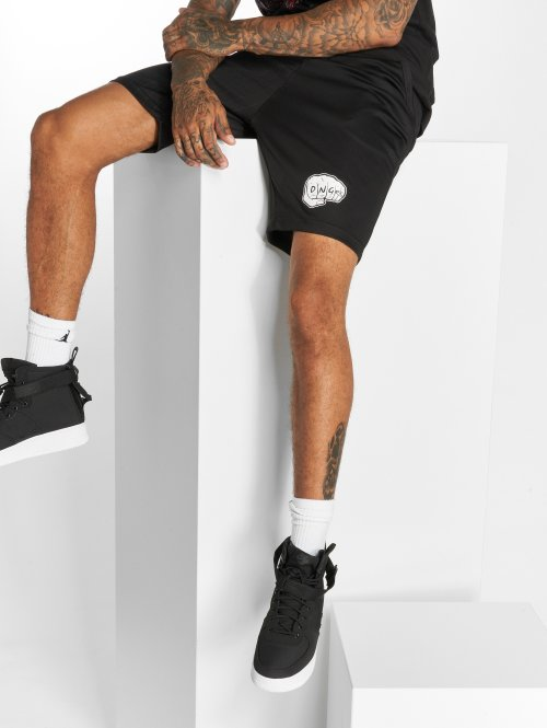 Dangerous DNGRS Shorts LosMuertos schwarz