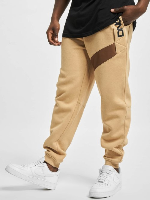 Dangerous DNGRS Spodnie do joggingu New Pockets bezowy